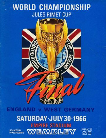 1966 WORLD CUP FINAL England v West Germany - The first ever reprint from the 1960s